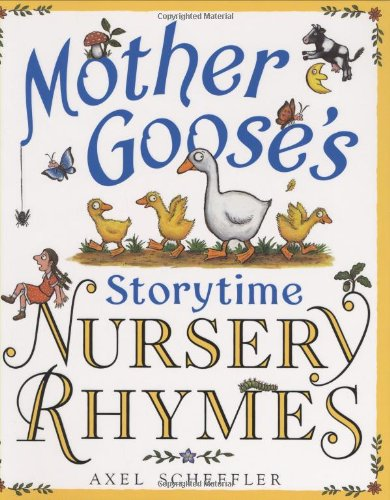 9780439903066: Mother Goose's Storytime Nursery Rhymes
