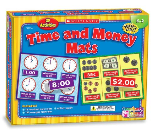 9780439912075: Time and Money Mats