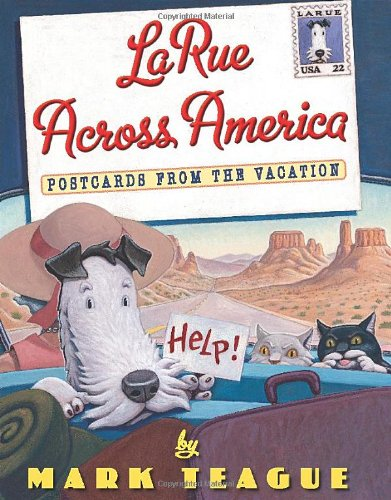 9780439915021: LaRue Across America: Postcards from the Vacation (Dear Mrs. Larue)