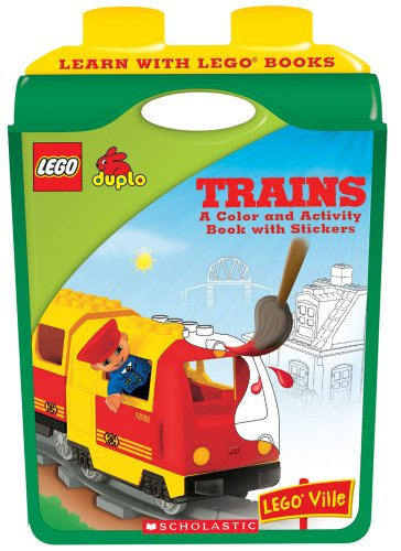 9780439915465: Learn With Lego: Trains
