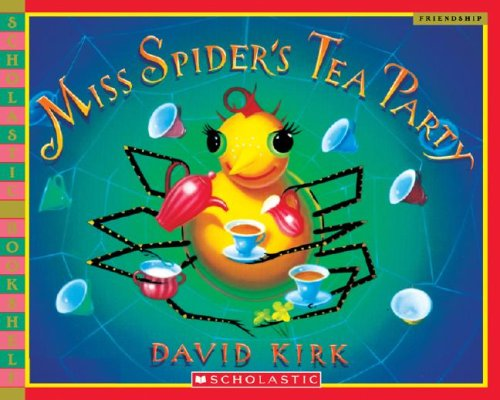 9780439918176: Miss Spider's Tea Party