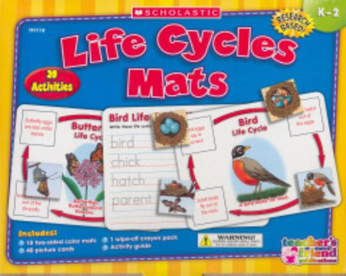 9780439920346: Life Cycles Mats (Teacher's Friend)
