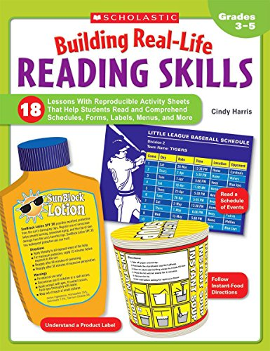 9780439923217: Building Real-Life Reading Skills: 18 Lessons With Reproducible Activity Sheets That Help Students Read and Comprehend Schedules, Forms, Labels, Menus, and More