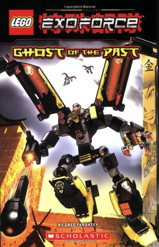 9780439923262: Ghost of the Past (Lego Exo-Force Junior Chapter Books)