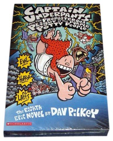 9780439924849: Captain Underpants Boxed Set, Books 1-8