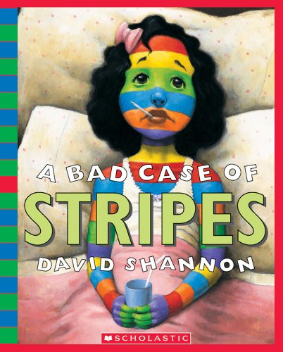 9780439924948: A Bad Case of Stripes - Audio