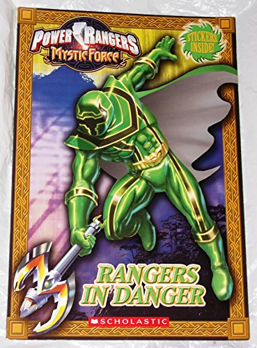 9780439925402: Rangers in Danger : Power Rangers Mystic Force (STICKERS INSIDE)