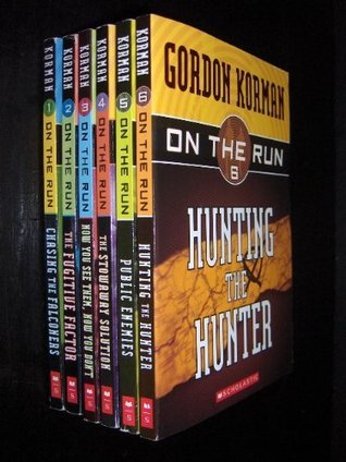 On the Run Complete Set, Books 1-6: Chasing the Falconers; The Fugitive Factor; Now You See Them, Now You Don't; The Stowaway Solution; Public Enemies; and Hunting the Hunter (9780439930055) by Gordon Korman