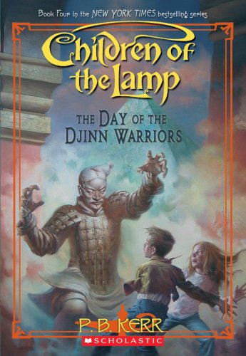 9780439932165: The Day of the Djinn Warriors (Children of the Lamp)