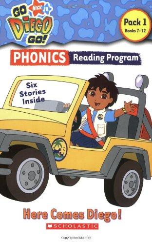 9780439932288: Go, Diego, Go! Phonics Reading Program: Here Comes Diego!: Books 7-12