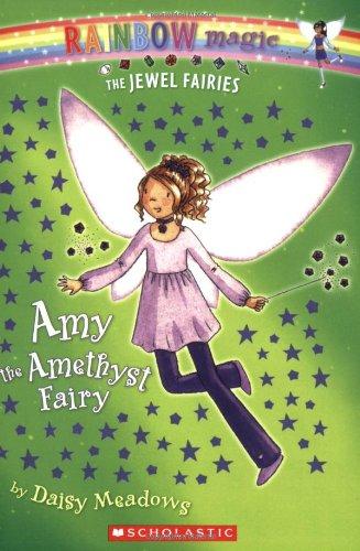 9780439935326: Amy: The Amethyst Fairy (Rainbow Magic: The Jewel Fairies, No. 5)