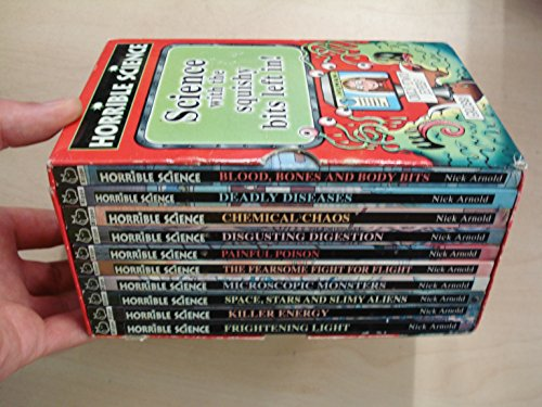 9780439943314: Horrible Science 10 Book Boxed Set (Horrible Science) [Paperback] by Nick Arnold