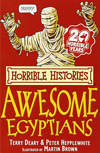 9780439944038: The Awesome Egyptians (Horrible Histories)