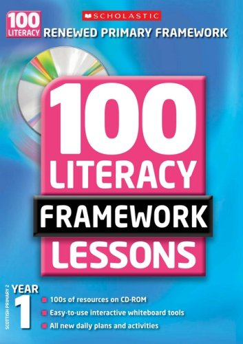 9780439945219: 100 New Literacy Framework Lessons for Year 1 with CD-Rom