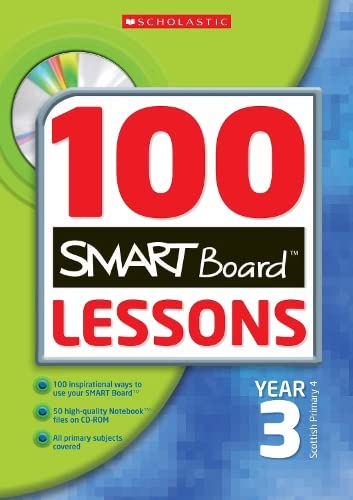 9780439945394: Year 3 (100 Smartboard Lessons)