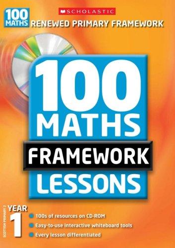 100 Maths Framework Lessons, Year 1: Ann Montague-Smith