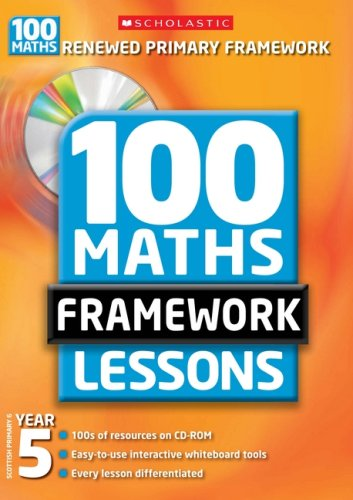 9780439945509: 100 New Maths Framework Lessons for Year 5 (100 Maths Framework Lessons Series)