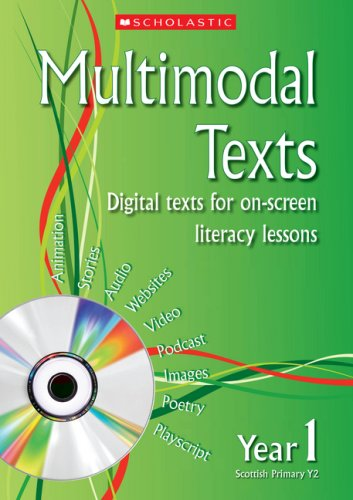 9780439945776: Multimodal Texts Year 1: Digital Texts for On-screen Literacy Lessons