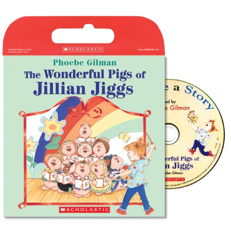 9780439952538: Tell Me A Story: Wonderful Pigs Of Jillian Jiggs: Book and CD