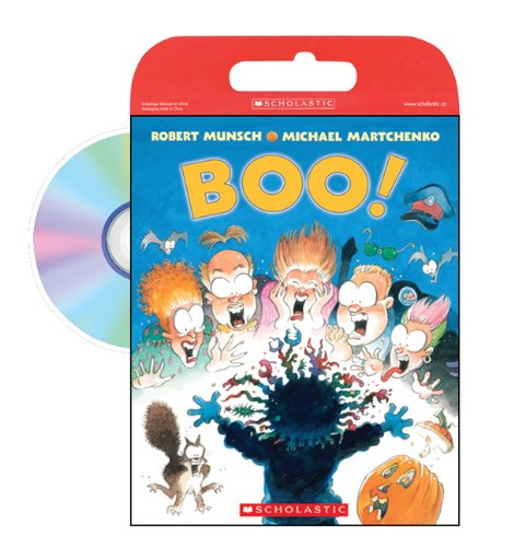 Tell Me a Story: Boo!: Book and CD [Paperback] (0439952557) by Robert Munsch