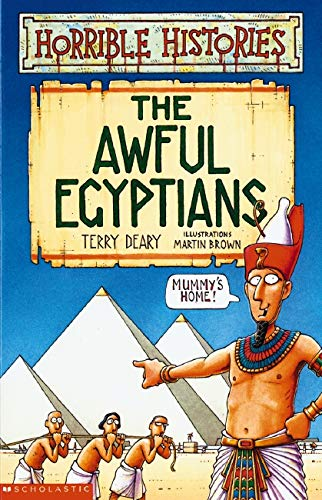 9780439953962: Awful Egyptians (Horrible Histories)