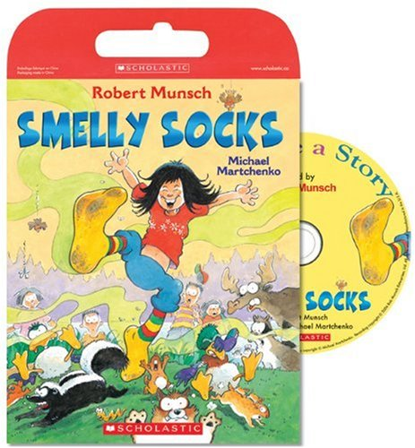 Tell Me a Story: Smelly Socks: Book and CD [Paperback] (0439957230) by Robert Munsch