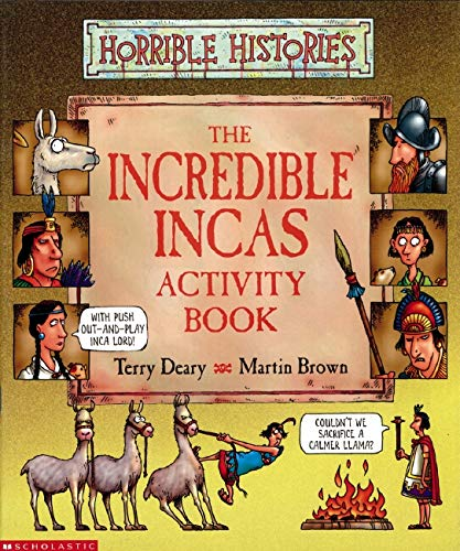 9780439959070: Incredible Incas Activity Book (Horrible Histories)