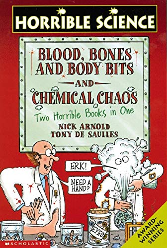 9780439959834: Blood, Bones and Body Bits AND Chemical Chaos (Horrible Science)