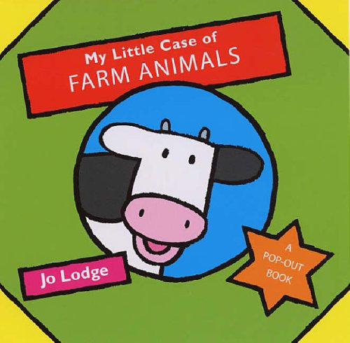 9780439959933: My Little Case of Farm Animals