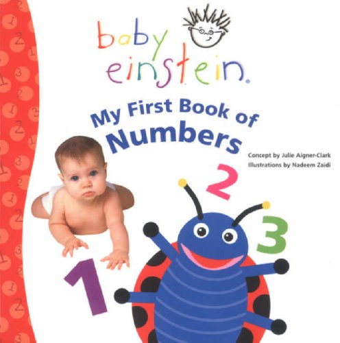9780439960632: My First Book of Numbers (Baby Einstein)