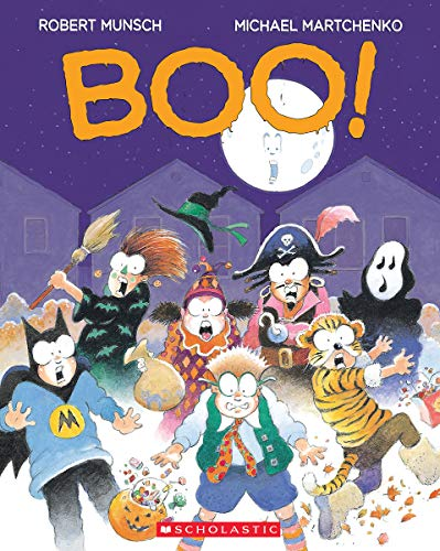 Boo! (0439961262) by Robert Munsch