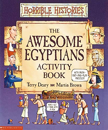 9780439962933: Awesome Egyptians Activity Book (Horrible Histories)
