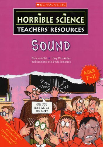 9780439971911: Sound (Horrible Science Teachers' Resources)
