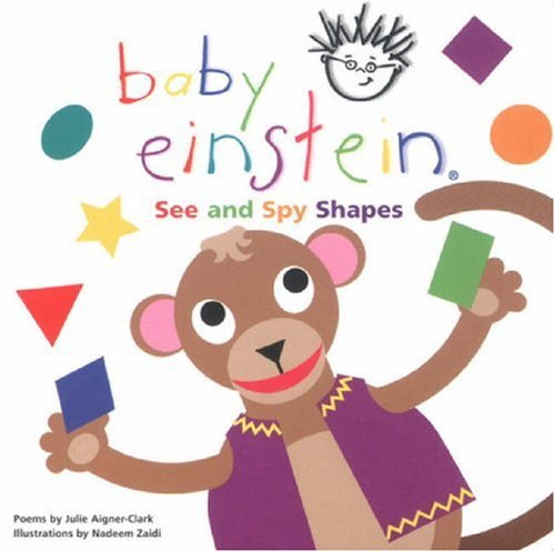 9780439973236: See and Spy Shapes (Baby Einstein)