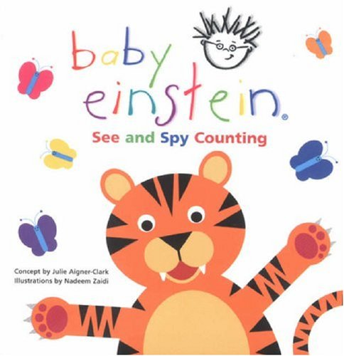 9780439973243: See and Spy Counting (Baby Einstein)