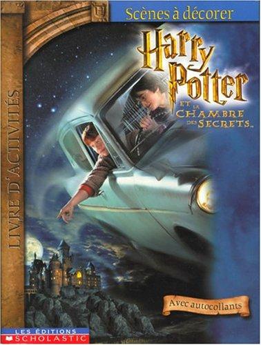 9780439975384: Scènes décorer Harry Potter chambre+auto