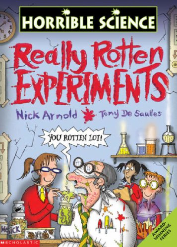 9780439977357: Really Rotten Experiments (Horrible Science)
