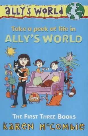 """9780439980623: Ally's World Slipcase: """"The Past, the Present and the Loud, Loud Girl"""", """"Dates, Double Dates and Big, Big Trouble"""", """"Butterflies, Bullies and Bad, Bad Habits"""" Nos. 1-3: The First Three Books"""