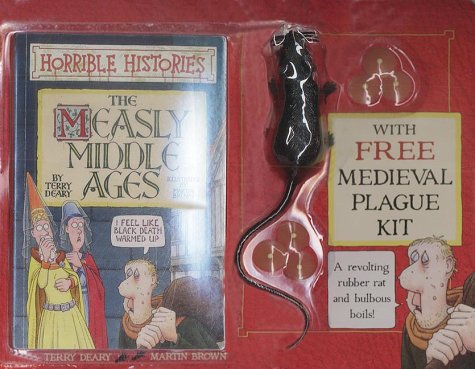 9780439981408: Brat Pack: Measly Middle Ages (Horrible Histories)