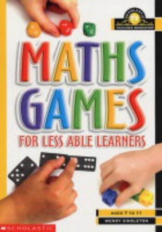9780439984560: Maths Games for Less Able Learners (Scholastic Teacher Bookshop)