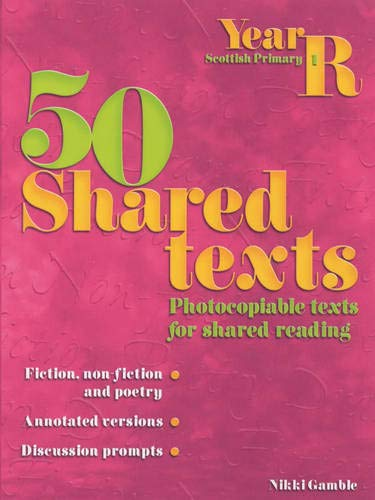 9780439984782: 50 Shared Texts for Reception