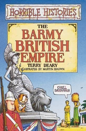 9780439992251: Barmy British Empire (Horrible Histories)