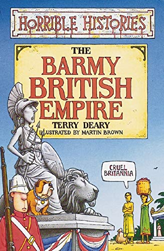 9780439992251: Barmy British Empire (Horrible Histories)