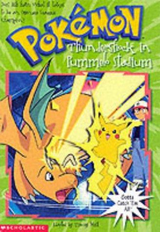 9780439993838: Thundershock in Pummelo Stadium (Pokemon Chapter Book)