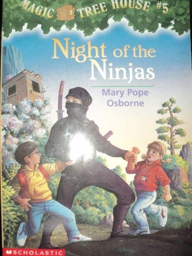 9780439995023: Night of the Ninjas (Magic Tree House)