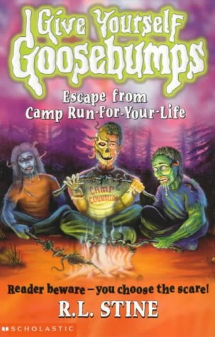 9780439995191: Escape from Camp Run-for-your-life (Give Yourself Goosebumps)