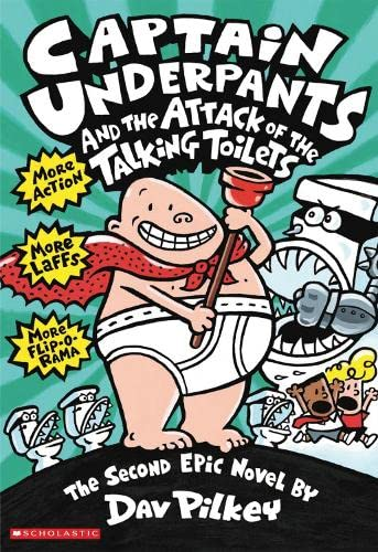 9780439995443: Captain Underpants and the Attack of the Talking Toilets