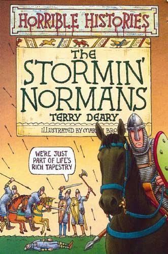 9780439996099: The Stormin' Normans (Horrible Histories)