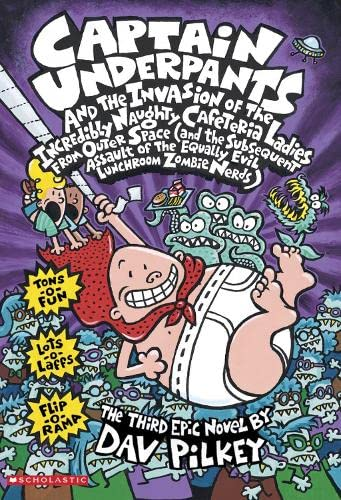 9780439997102: Captain Underpants and the Invasion of the Incredibly Naught