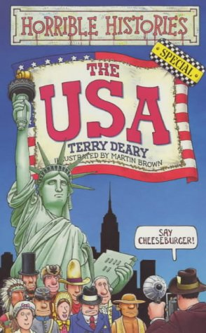 9780439999397: The USA (Horrible Histories Special)
